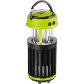 Фонарь кемпинговый SKIF Outdoor Gaper Black/Green с защитой от насекомых