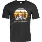 Футболка мужская Skif Outdoor «Your easy adventure» XL Black