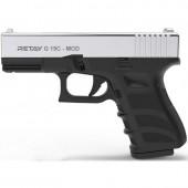 Пистолет стартовый Retay G 19C Nickel