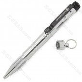 Smith_Wesson Tactical Pen with Fire Striker Silver