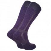Термоноски Trekking LongWinter темно-фиолетовые