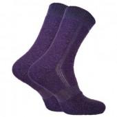 Термоноски Trekking ShortWinter темно-фиолетовые