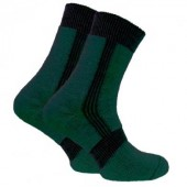 Термоноски Trekking ShortWinter темно-зеленые