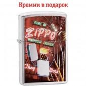 Зажигалка Zippo 200 Zippo Neon Sign