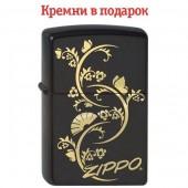 Зажигалка Zippo Floral Fan