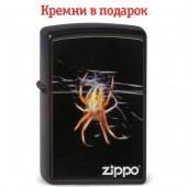 Зажигалка Zippo Yellow Spyder